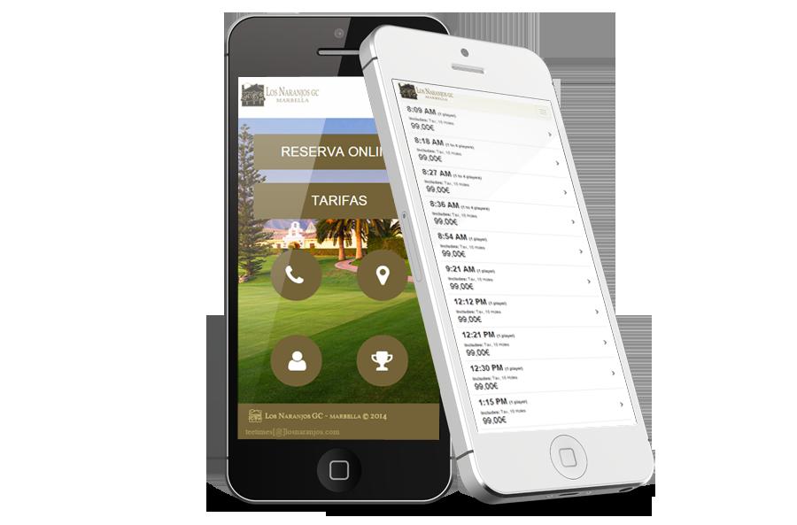 especialistas en ux, esperiencia de usuario de campos de golf