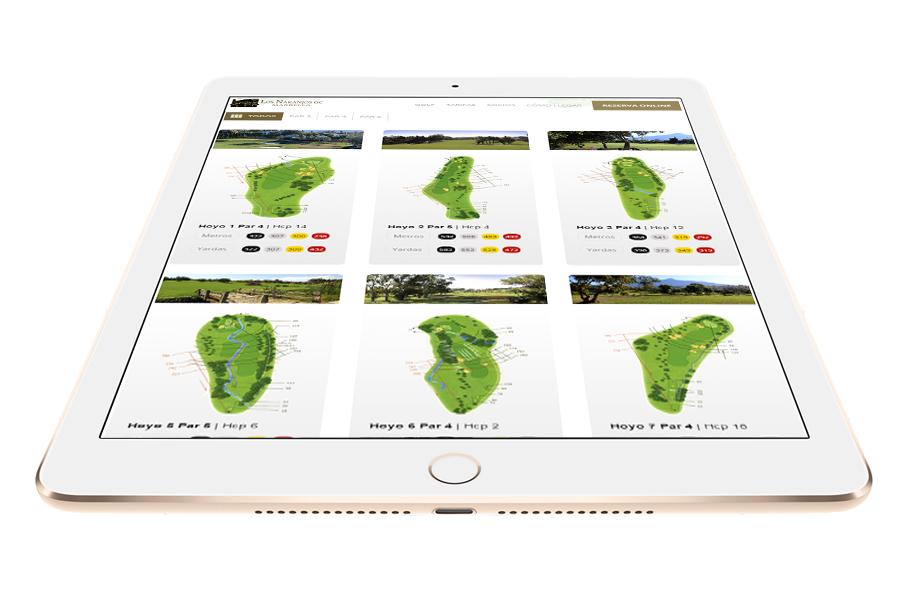 Especialistas en estrategia online para campos de golf