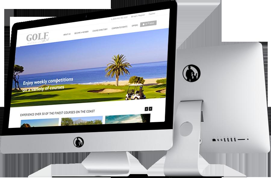 Especialistas en diseño responsive para web de campos de golf