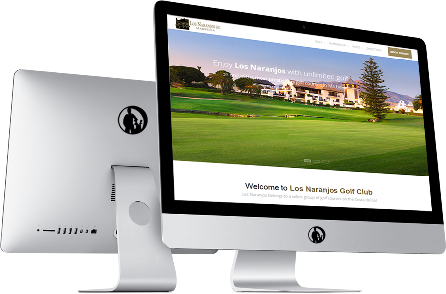 diseño web paraempresas de golf