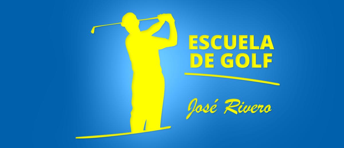 Diseño de logotipo para la escuela de golf de Jose Rivero en Madrid
