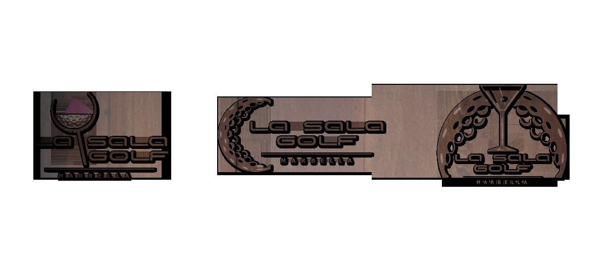 Diseño logotipo para la linea de negocio de golf de la sala, Marbella